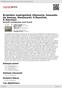 Digitální booklet (A4) Brněnštní madrigalisté (Marenzio, Gesualdo da Venosa, Monteverdi, P.Řezníček, K.Slavický)