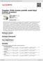 Digitální booklet (A4) Čepelka: Příliš mnoho pohřbů aneb Když květiny promluví