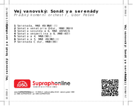 Zadní strana obalu CD Vejvanovský: Sonáty a serenády