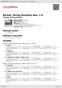 Digitální booklet (A4) Bartok: String Quartets Nos. 1-6