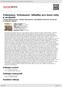 Digitální booklet (A4) Telemann, Schumann: Skladby pro lesní rohy a orchestr