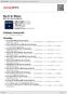 Digitální booklet (A4) Back in Blues