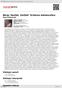 Digitální booklet (A4) Berg: Sextet, Vačkář: Scherzo melancolico