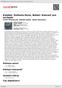 Digitální booklet (A4) Kalabis: Sinfonia Pacis, Boháč: Koncert pro orchestr