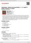 Digitální booklet (A4) Smetana: Smyčcové kvartety č. 1 e moll Z mého života a d moll