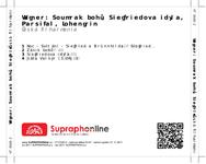Zadní strana obalu CD Wagner: Soumrak bohů, Siegfriedova idyla, Parsifal, Lohengrin