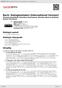 Digitální booklet (A4) Bach: Dialogkantaten [International Version]