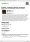 Digitální booklet (A4) Zelenka: Lamentace proroka Jeremiáše