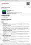 Digitální booklet (A4) Solo Concerts