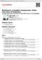 Digitální booklet (A4) Beethoven: Complete Symphonies; Violin Concerto; Prometheus