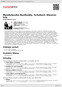 Digitální booklet (A4) Mendelssohn-Bartholdy, Schubert: Klavírní tria