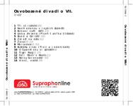 Zadní strana obalu CD Osvobozené divadlo VII.