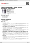 Digitální booklet (A4) Toots Thielemans & Kenny  Werner