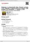 Digitální booklet (A4) Debussy: La damoiselle élue. Poeme Lyrique, L.62; Prélude a l'apres-midi d'un faune, L.86; Images For Orchestra - 2. Ibéria, L.122