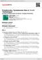 """Digitální booklet (A4) Tchaikovsky: Symphonies Nos.4, 5 & 6 """"Pathetique"""""""
