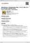 Digitální booklet (A4) Beethoven: Symphonies Nos. 1 In C, Op.21 & 4 In B Flat, Op.60 [Live]