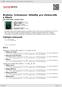 Digitální booklet (A4) Brahms, Schumann: Skladby pro violoncello a klavír
