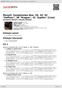 """Digitální booklet (A4) Mozart: Symphonies Nos. 29, 33, 35 """"Haffner"""", 38 """"Prague"""", 41 """"Jupiter"""" [Live]"""