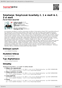Digitální booklet (A4) Smetana: Smyčcové kvartety č. 1 e moll & č. 2 d moll