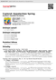 Digitální booklet (A4) Copland: Appalachian Spring