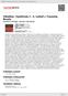 Digitální booklet (A4) Sibelius: Symfonie č. 5, Labuť z Tuonely, Bouře