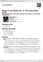Digitální booklet (A4) Blues In The Night, Vol. 1: The Early Show [Live]