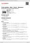 Digitální booklet (A4) Trois poetes : Brel - Ferré - Brassens