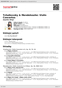 Digitální booklet (A4) Tchaikovsky & Mendelssohn: Violin Concertos