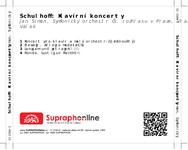 Zadní strana obalu CD Schulhoff: Klavírní koncerty
