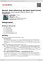 Digitální booklet (A4) Mozart: Die Entfuhrung aus dem Serail [Live]