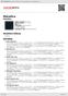 Digitální booklet (A4) Metallica