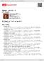 Digitální booklet (A4) Výběr písní 1