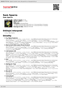 Digitální booklet (A4) Sam Sparro