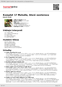 Digitální booklet (A4) Komplet 17 Melodie, které nestárnou