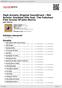 Digitální booklet (A4) High Anxiety Original Soundtrack / Mel Brooks' Greatest Hits feat. The Fabulous Film Scores Of John Morris