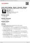 Digitální booklet (A4) Love and Longing - Ravel / Dvorák / Mahler