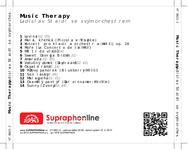Zadní strana obalu CD Music Therapy