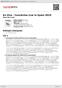 Digitální booklet (A4) En Vivo - Conciertos Live In Spain 2010