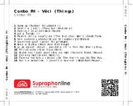 Zadní strana obalu CD Combo FH - Věci (Things)