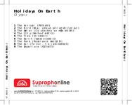 Zadní strana obalu CD Holidays On Earth