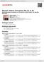 Digitální booklet (A4) Mozart: Piano Concertos No.21 & 26