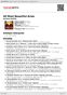 Digitální booklet (A4) 40 Most Beautiful Arias