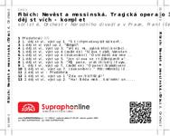 Zadní strana obalu CD Fibich: Nevěsta messinská. Tragická opera o 3 dějstvích - komplet