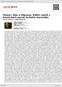 Digitální booklet (A4) Homér: Ilias a Odyssea. Výběr zpěvů z básnických eposů řeckého starověku