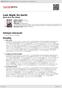 Digitální booklet (A4) Last Night On Earth