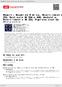 Digitální booklet (A4) Mozart: Kouzelná flétna, Divertimento KV 253, Fantasie KV 594 a 608, Andante, Divertimento KV 253, Figarova svatba