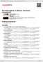 Digitální booklet (A4) Rovarkungens o [Bonus Version]