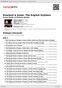 Digitální booklet (A4) Dowland & Jones: The English Orpheus