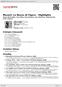 Digitální booklet (A4) Mozart: Le Nozze di Figaro - Highlights