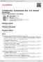 Digitální booklet (A4) Tchaikovsky: Symphonies Nos. 4-6; Hamlet Overture
